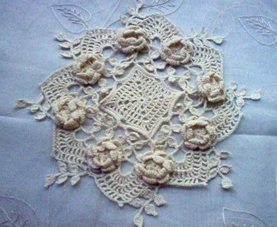crochet lace, thinking on a use for this
