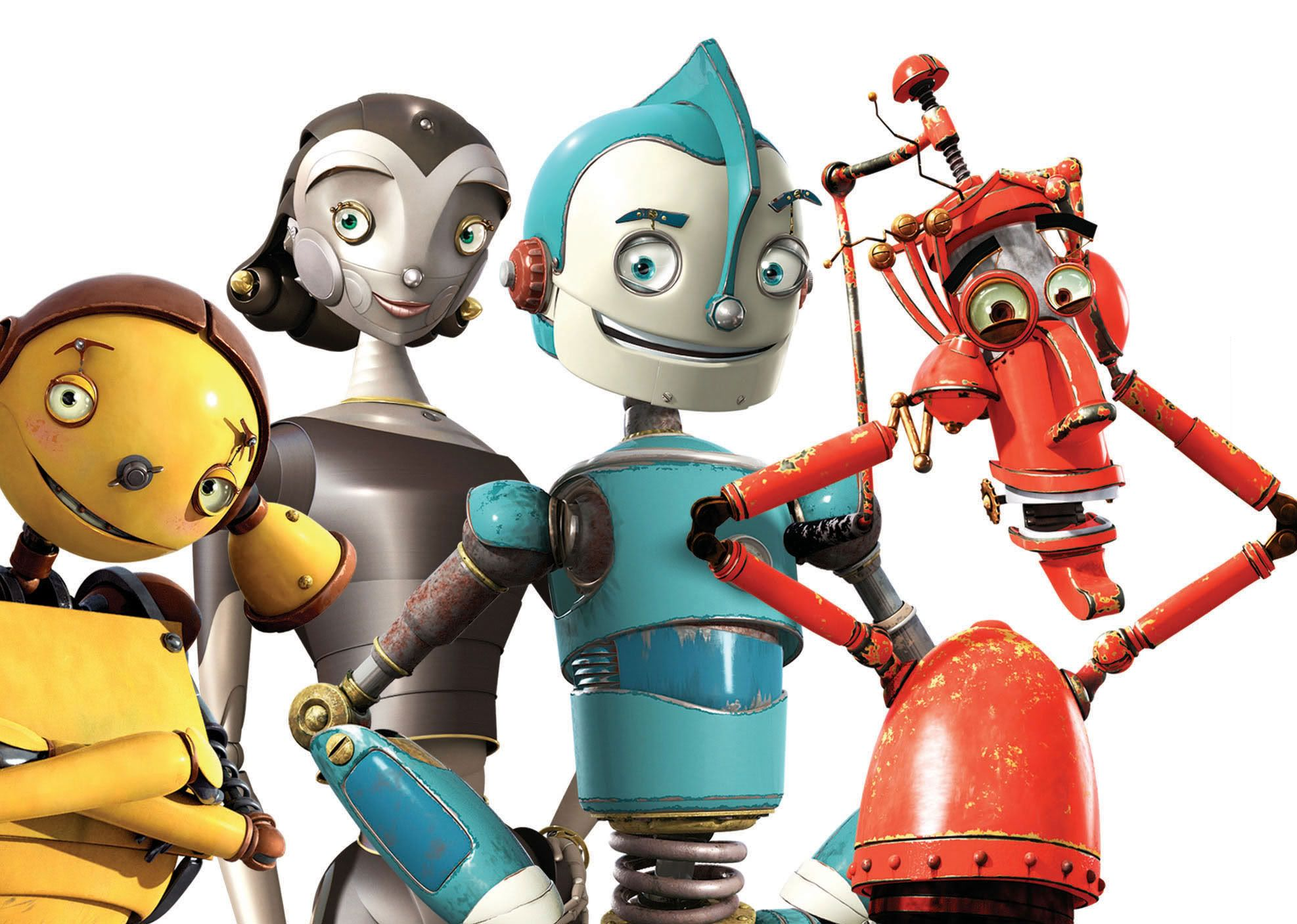 Cartoon Characters As Robots : Robots movie characters free download animated