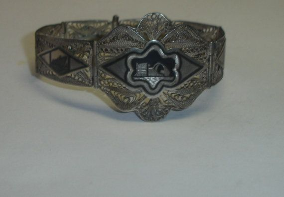Iraqi Sterling Silver Handmade  Bracelet