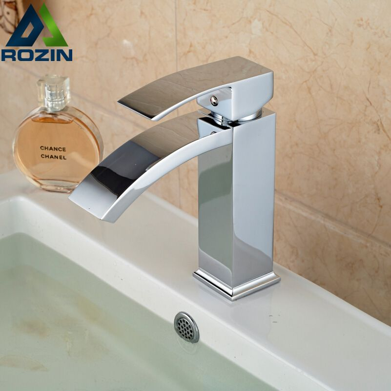 free shipping wholesale and retail polished chrome waterfall spout rh pinterest com