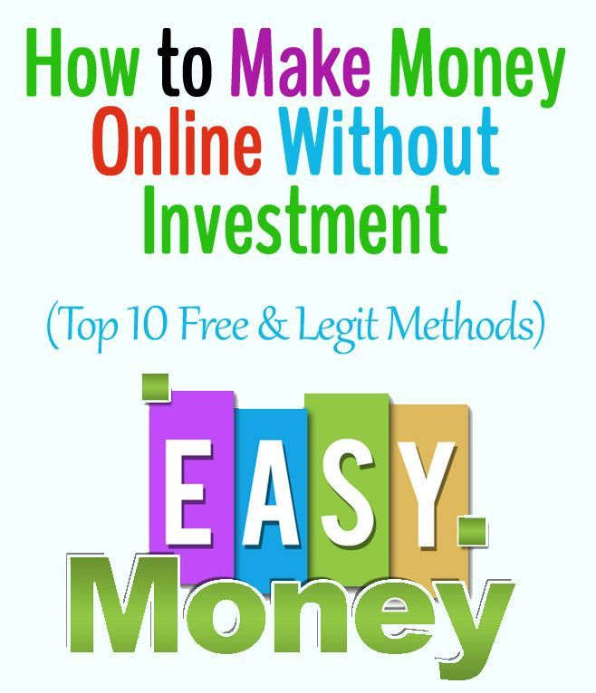 How To Make Money Using Internet Without Investment
