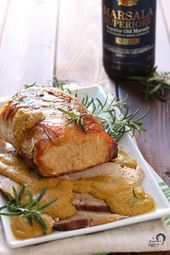 Photo of Baked Marsala Roast Pork – Arianna flavor