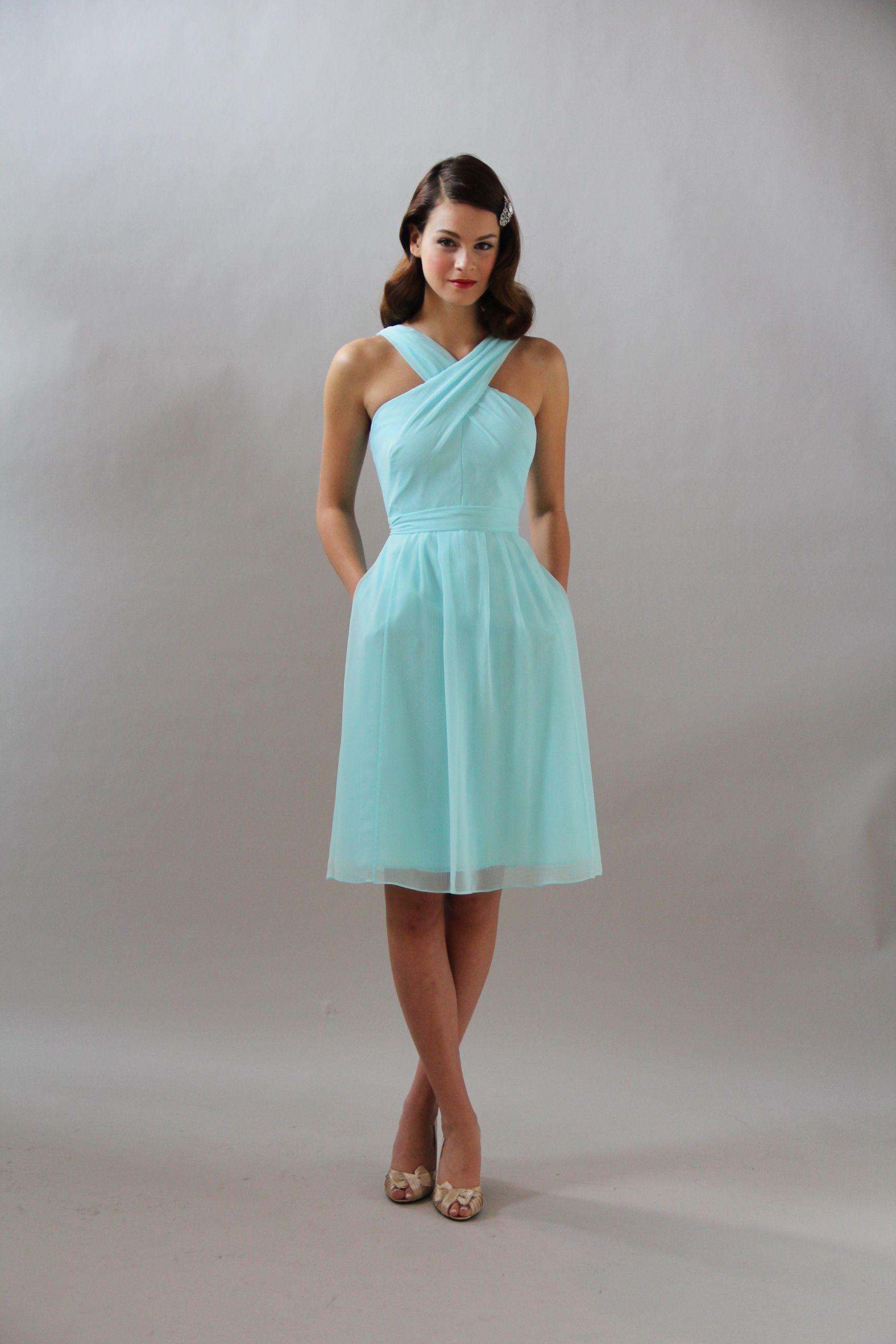 Kennedy Blue Bridesmaid Dress Audrey / 28106 | Mint bridesmaid ...