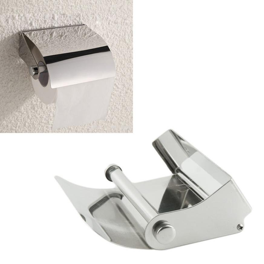 Provided Simple Bathroom Accessories Toilet Paper Holder White Lavatory Closestool Toilet Paper Dispenser Tissue Box Goods Of Every Description Are Available Bathroom Hardware