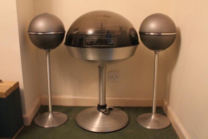 Electrohome Apollo Grundig Audiorama 4000 Speakers