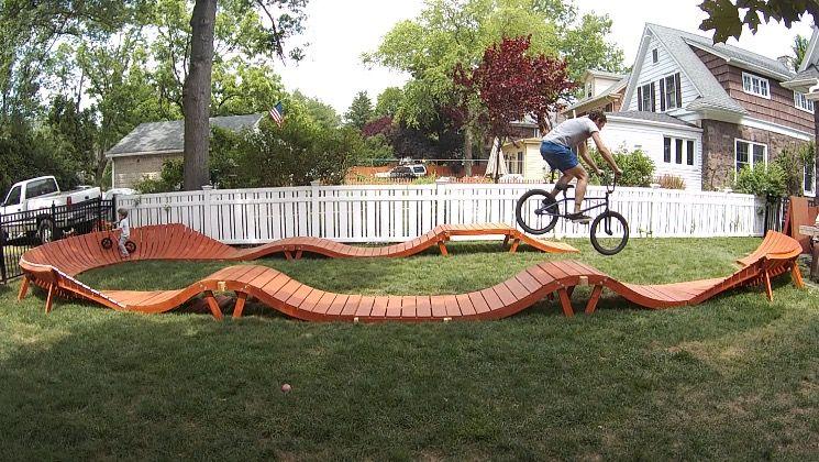 Wooden Pump Tracks Page 4 Pinkbike Forum Dream Patio Wood Bike Bike Pump Track