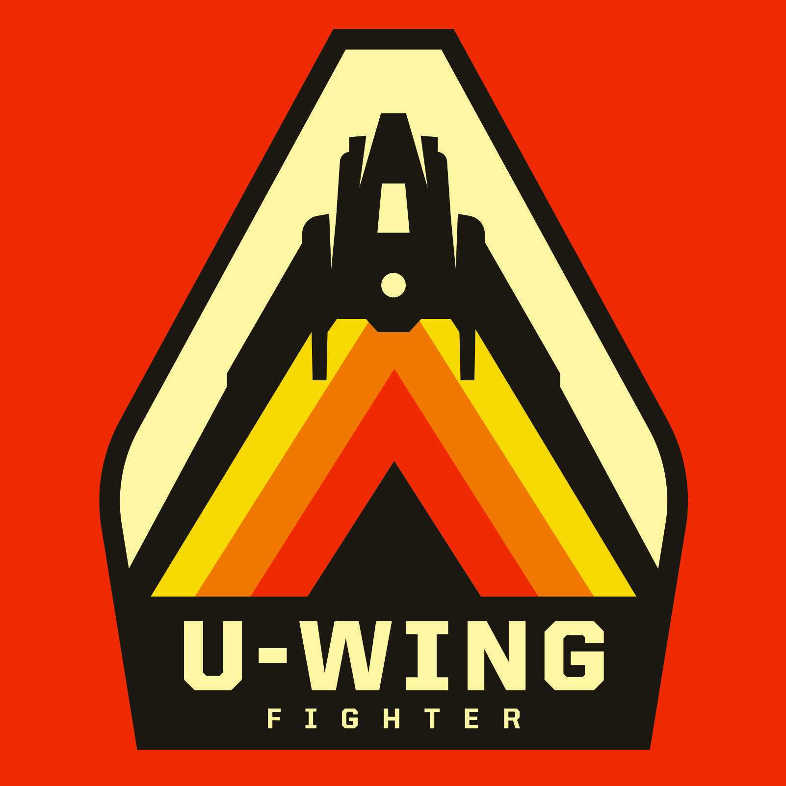 U Wing In A Retro Design From Rogue One