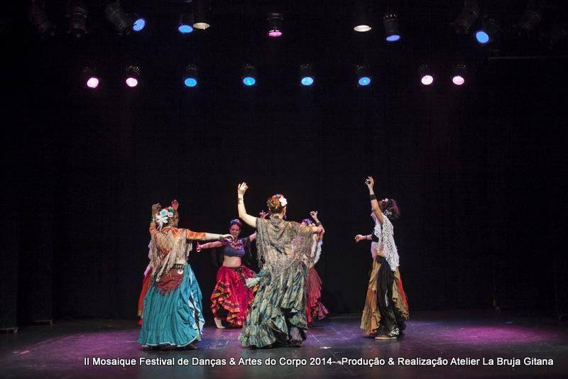 Mosaique 2014 - Festival de Dança e Artes do Corpo Teatro União Cultural Brasil - Estados Unidos Espaço Romany