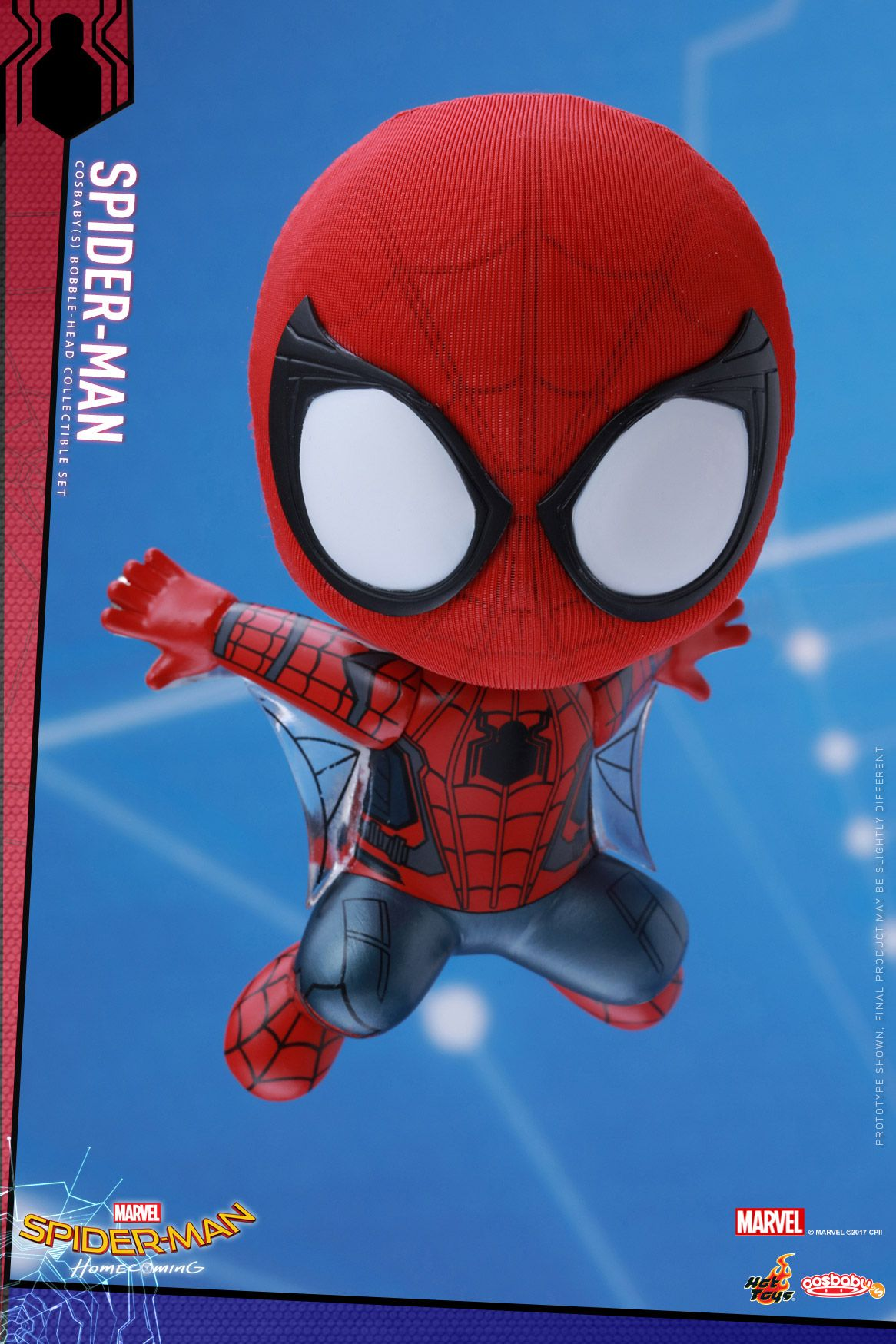 Cosbaby Figures For Spider Man Homecoming Revealed Con Imagenes