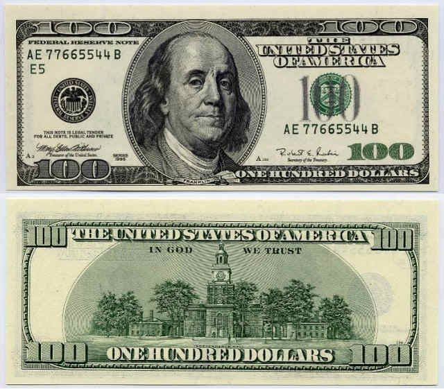 Fake Dollar Bills To Print