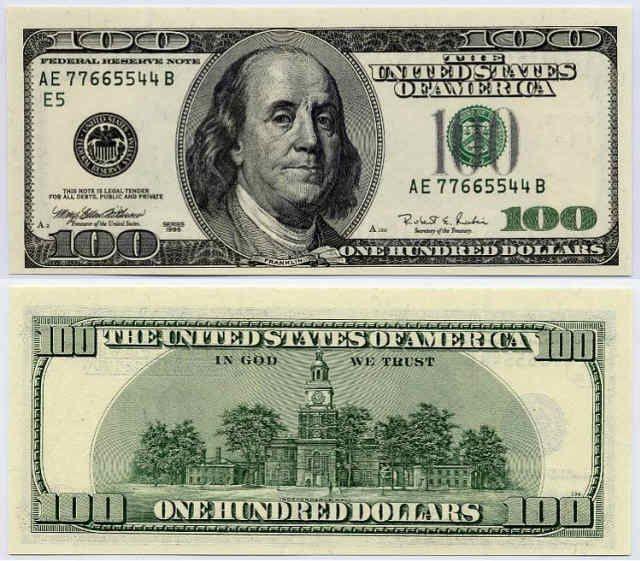 fake dollar bills to print | fake 100 dollar bill print out image ...