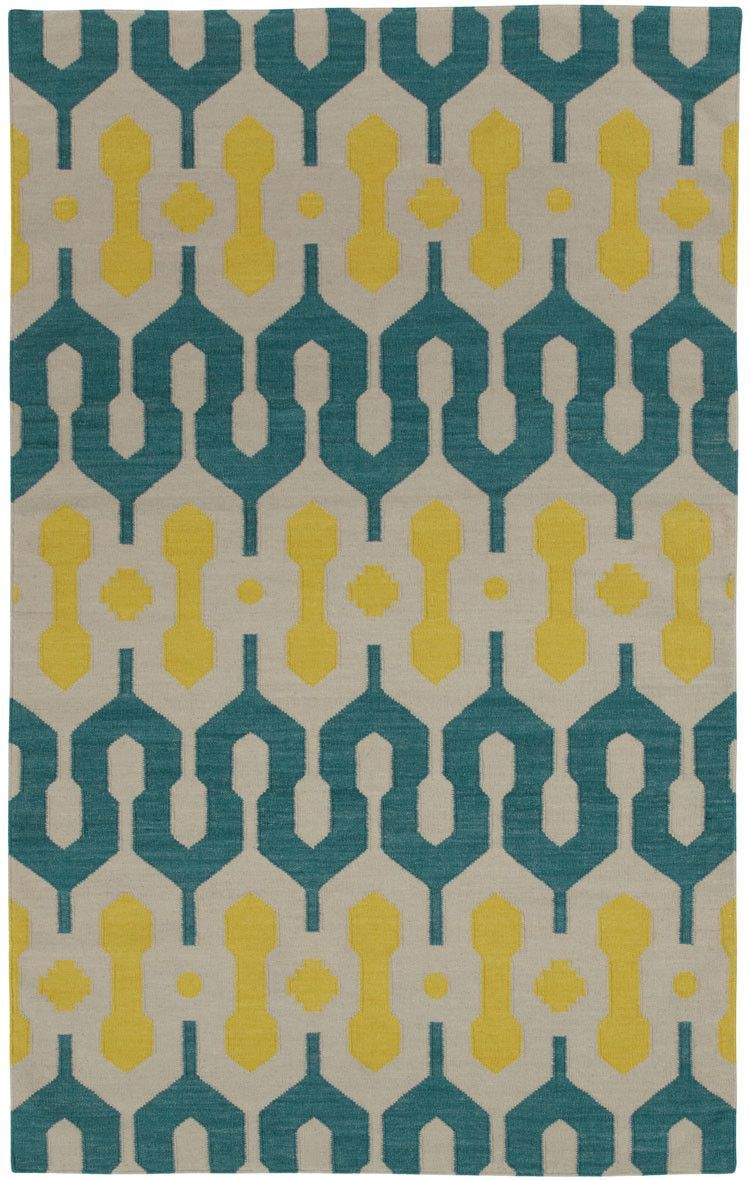 Spain Blue /Yellow Area Rug