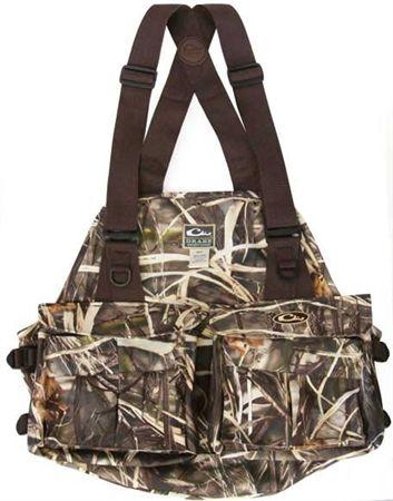 Drake Waterfowl 900 Denier Strap Vest At Mackspw Com Hunting Vest Hunting Clothes Hunting Hoodies