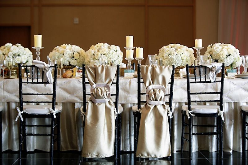 glam goddess wedding theme table setting love life images 550x366 ...