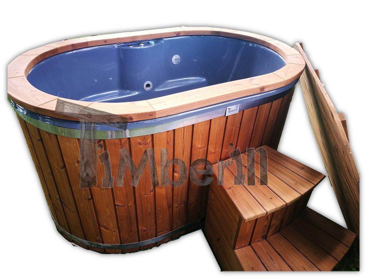 badetonne oval aus fiberglas gfk f r 2 personen. Black Bedroom Furniture Sets. Home Design Ideas