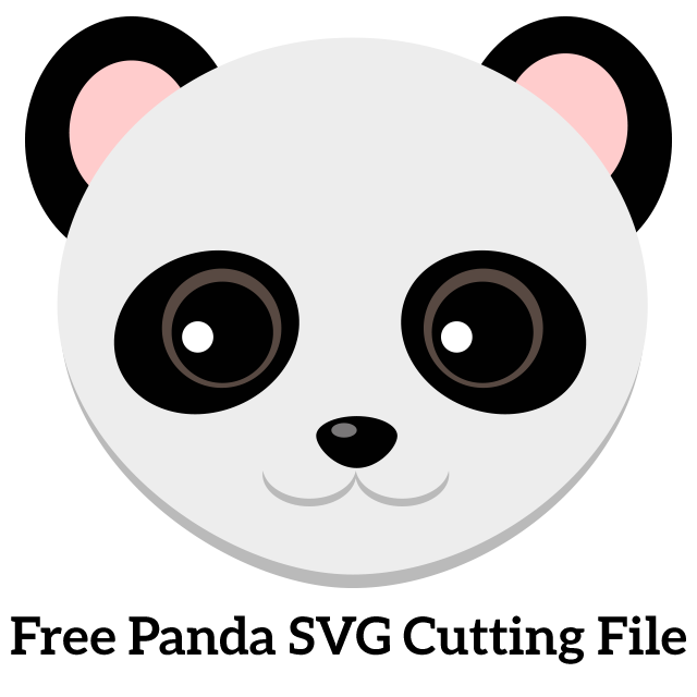 15d4569e2a4 I know how much you all love free svg files and I have an extra cute one  today. This adorable free panda svg is ready to be cut out using your  digital ...
