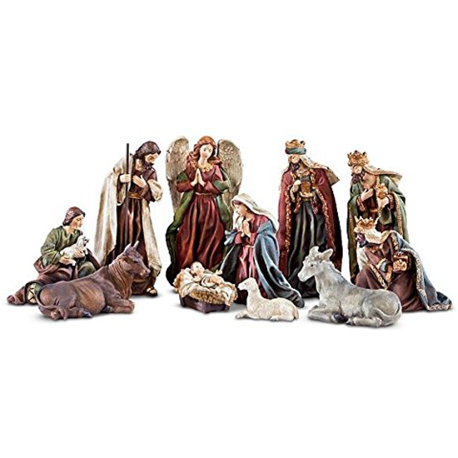Home interior jesus figurines the holy family nativity set  check this awesome product by going