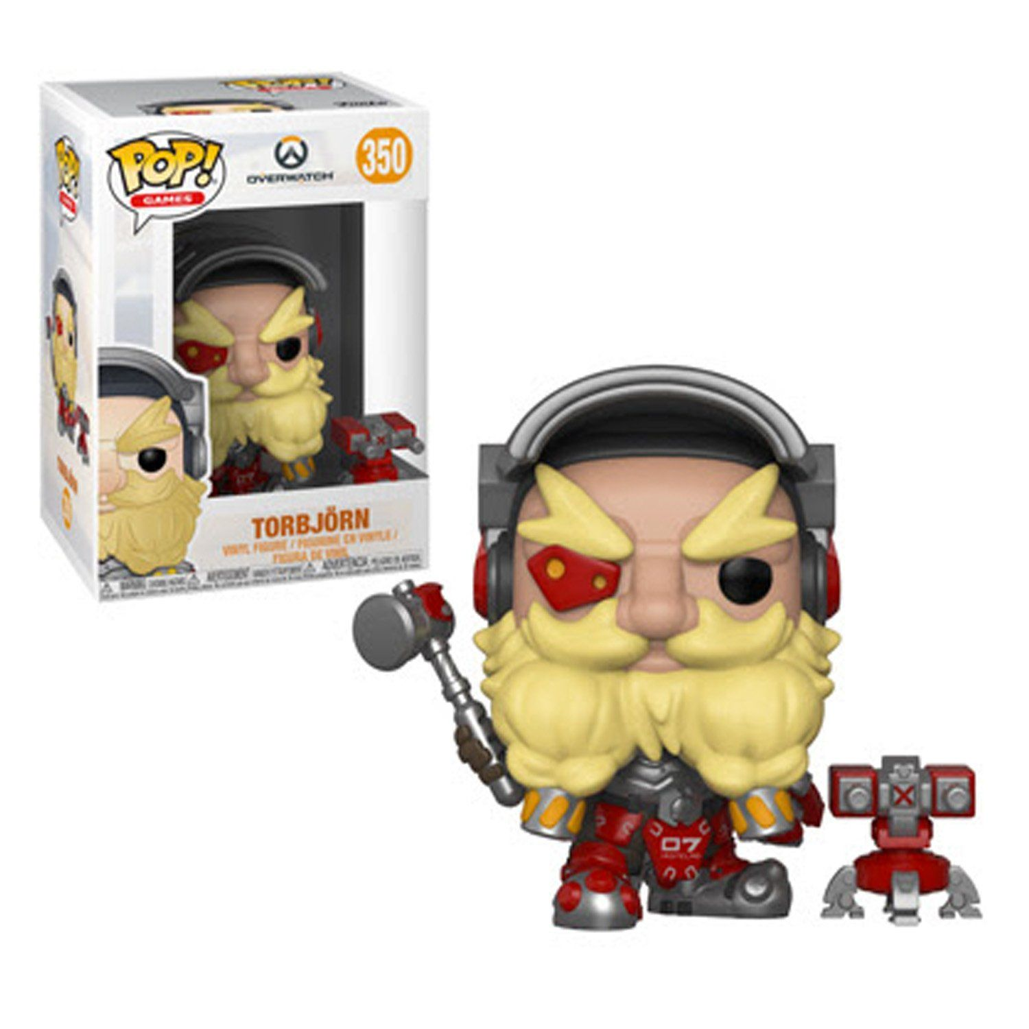 GAMES OVERWATCH 350 TORBJORN VINYL FIGURE POP