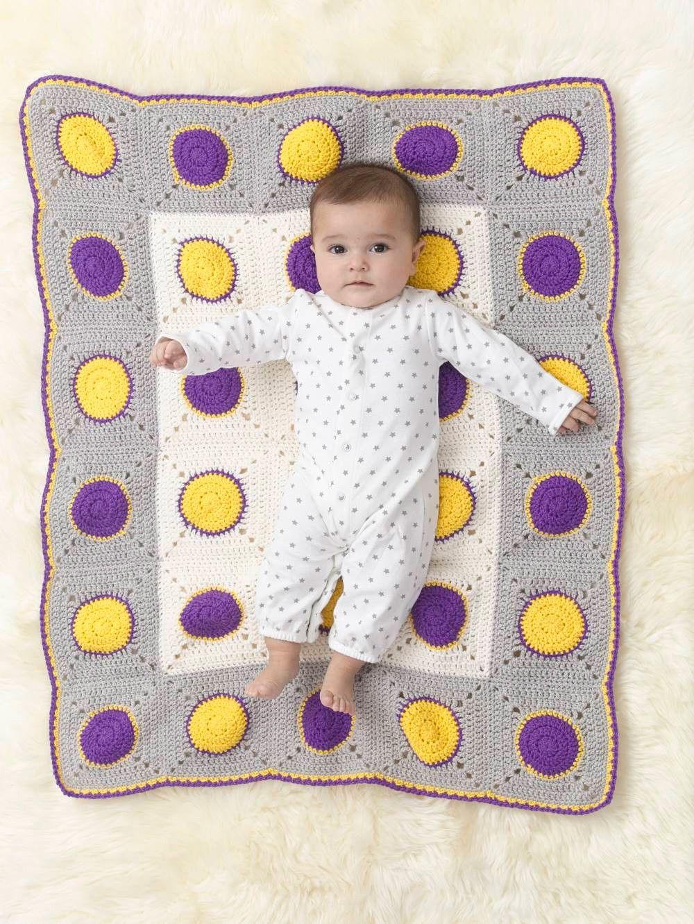 Dotty Dots Afghan Pattern (Crochet) | Crochet Dreams | Pinterest ...