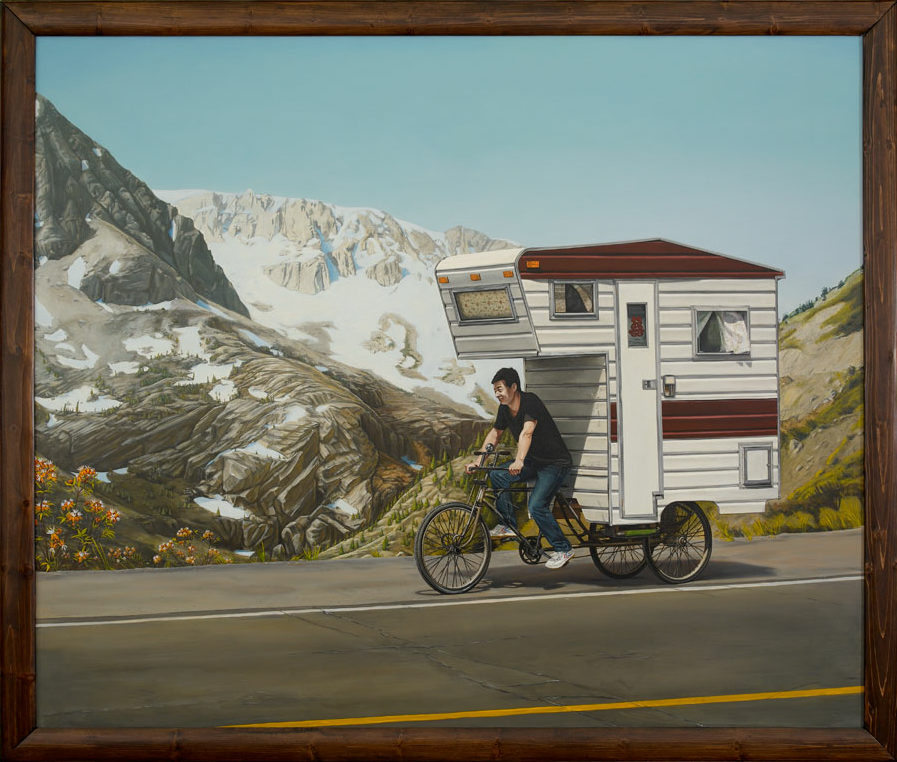 Unusual Vehicles Oil Paintings by Kevin Cyr | Abduzeedo | Graphic Design Inspiration and Photoshop Tutorials
