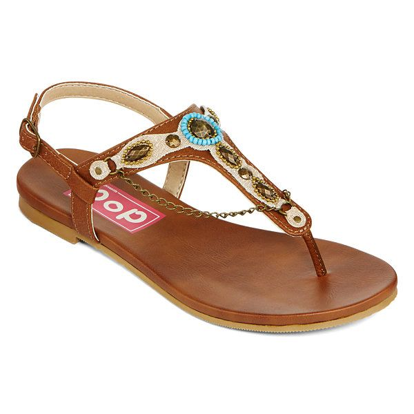 b8af152ad30f2 Pop Franco Embellished T-Strap Sandals - JCPenney