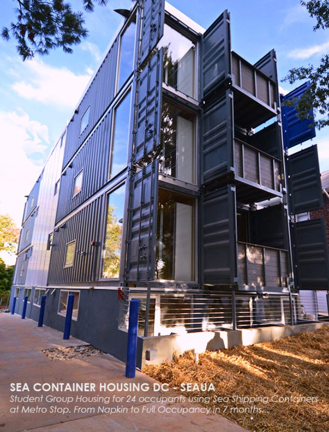 multi family shipping container housing travis price. Black Bedroom Furniture Sets. Home Design Ideas