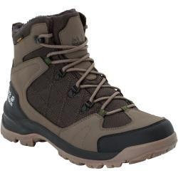 Jack Wolfskin Waterproof Winter Shoes Men Cold Terrain Texapore Mid Men 47.5 brown Jack Wolfski