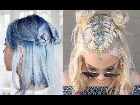 Peinados Tumblr Faciles Para Cabello Corto 2018 Youtube Peinados