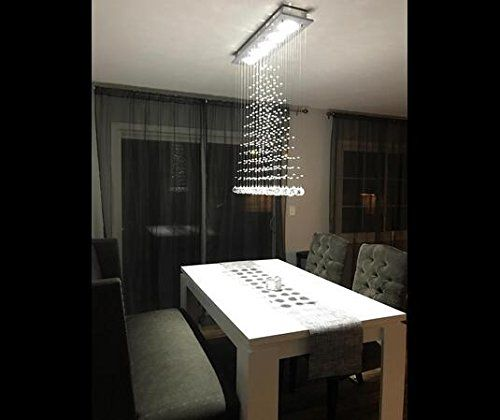 Contemporary Modern Crystal Rain Drop Chandelier Lighting Flush Prepossessing Dining Room Flush Mount Lighting Review