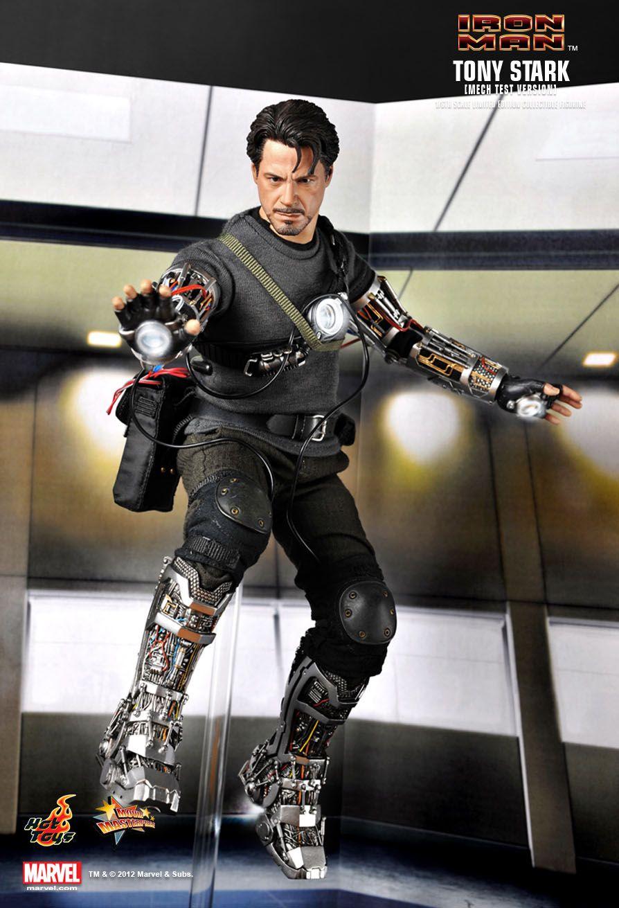 Hot Toys : IRON MAN - Tony Stark (Mech Test Version) 1/6th ...
