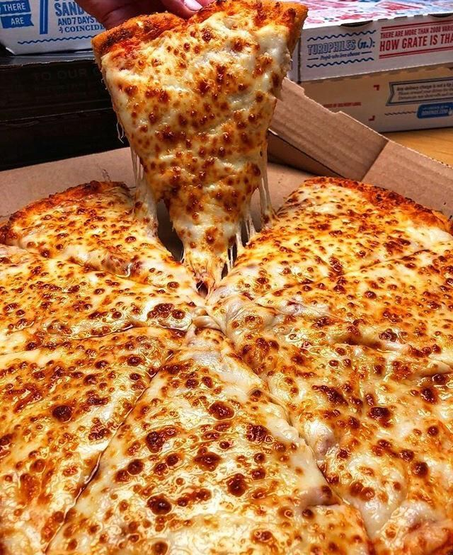 Dominoes is one of the best delivery pizzas in my
