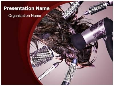 Hair Style Powerpoint Template Is One Of The Best Powerpoint