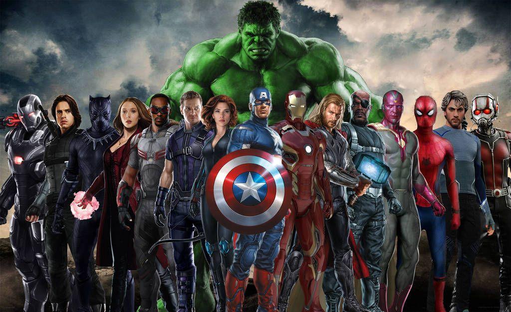 The Avengers Wallpaper by Daviddv1202 All avengers
