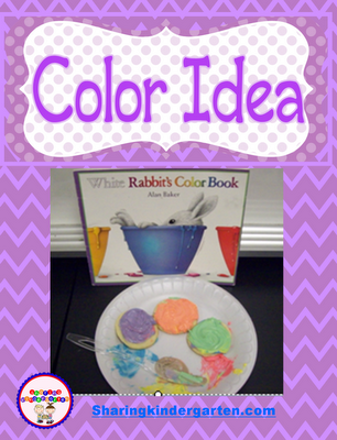 Sharing Kindergarten: White Rabbits Color Book | Beginning Of The ...
