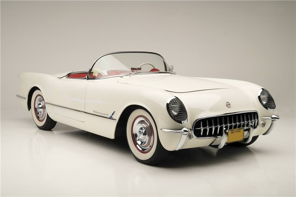 The first Chevrolet Corvette was made in 1953, and only 300 were ...