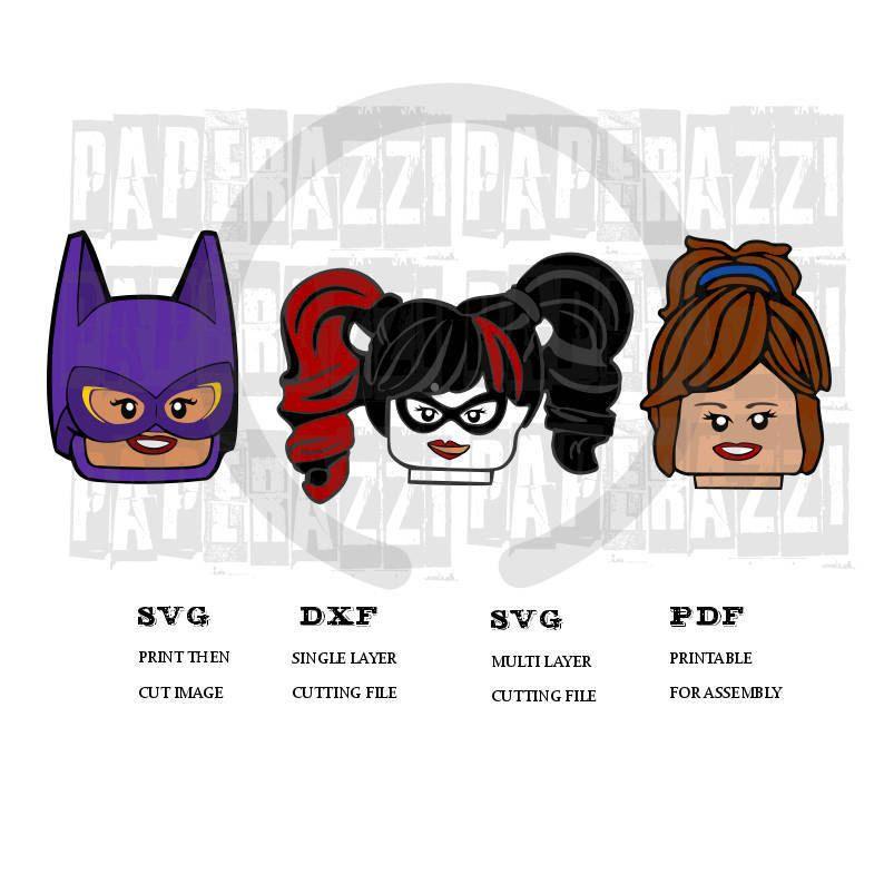 Lego Batman Movie SVG DXF for Cricut Design Space