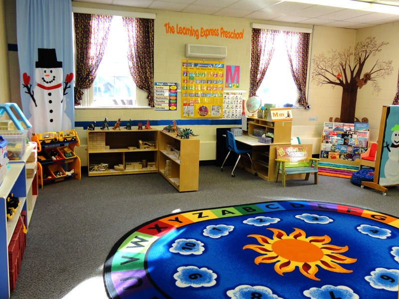 Classroom Center Ideas ~ Preschool learning centers early classroom at