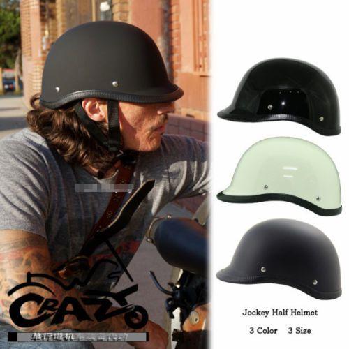 Amz Japan Half Face Motorcycle Helmet Brim Jockey Glass Fiber Motorcycle Helmets Retro Helmet Half Helmets
