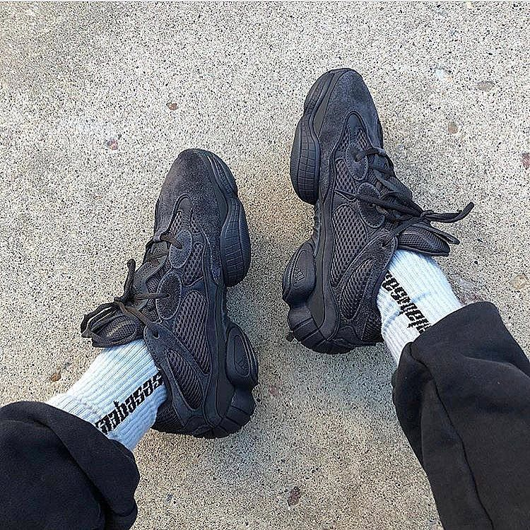 90ccaf980cb Yeezy 500 Triple Black