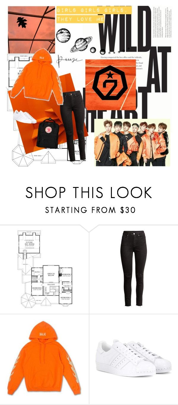 """Got7"" by esme00 ❤ liked on Polyvore featuring H&M, adidas Originals, Fjällräven and BOTBBD"