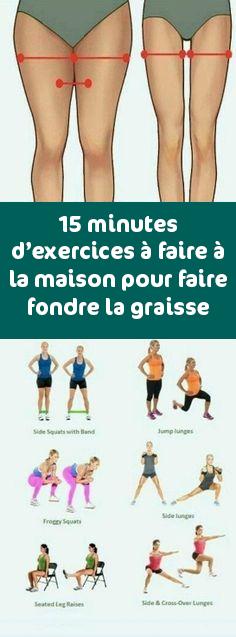 15 minutes d'exercice à domicile pour faire fondre la graisse