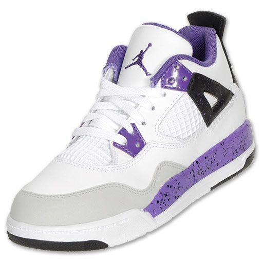 brand new e8928 2a67e Shops and Deals: Jordan Preschool Retro 4 Basketball Shoes,$69.99 ...