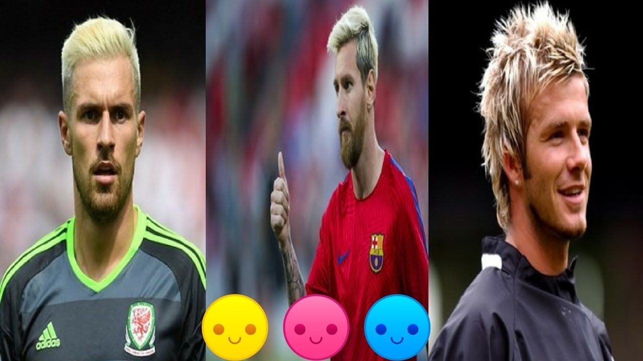 Top 5 Footballer S Fantastic Hairstyle Who Have Dyed Their Hair