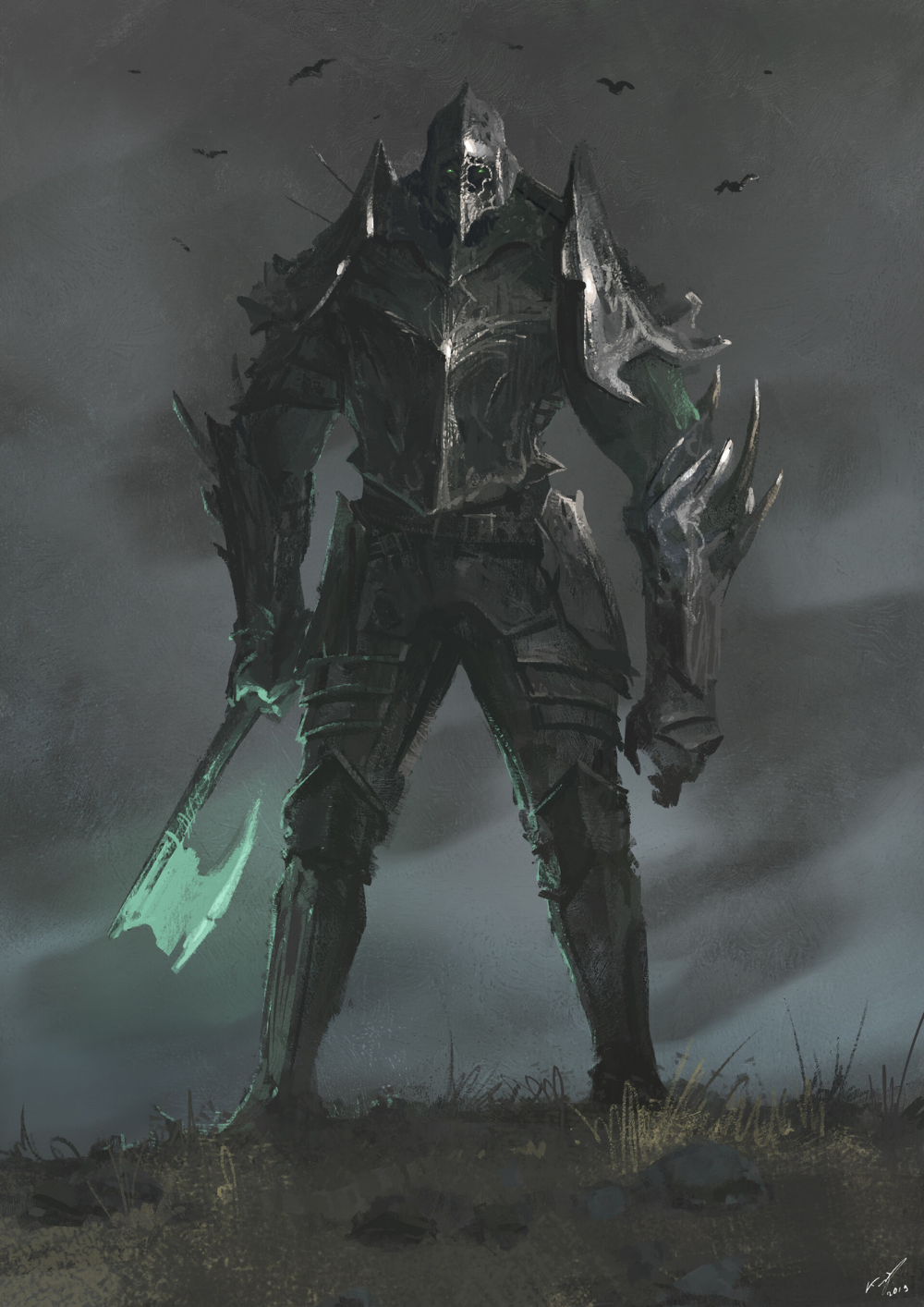 Dead Titan by Ashot Avetisyan (With images) | Fantasy monster, Character art, Fantasy armor