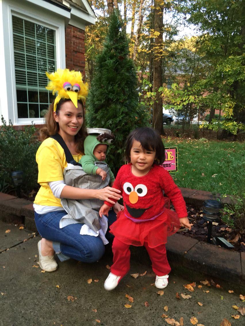 Sesame Street Costumes Elmo Oscar The Grouch Big Bird