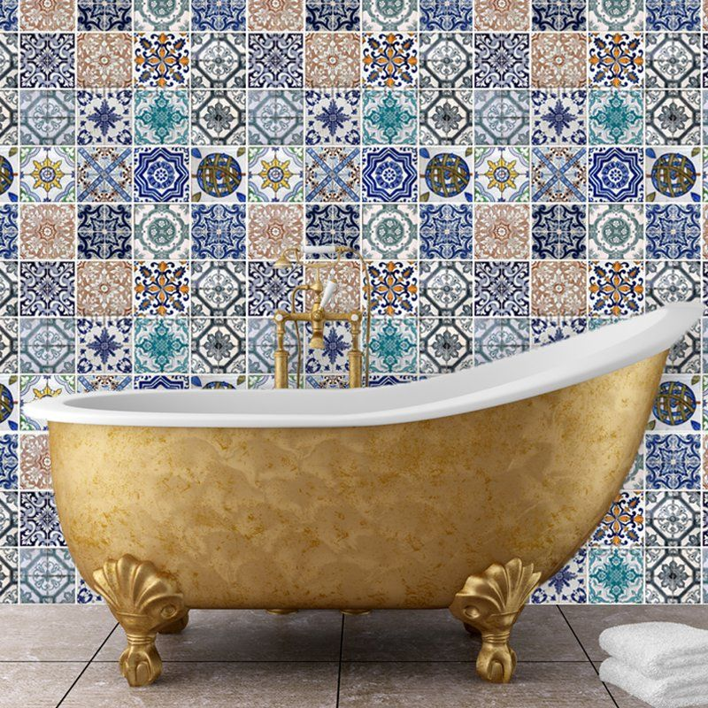 Mosaic Tile Wall Stickers Mosaic Tiles Tile Decals Kitchen Wall Stickers