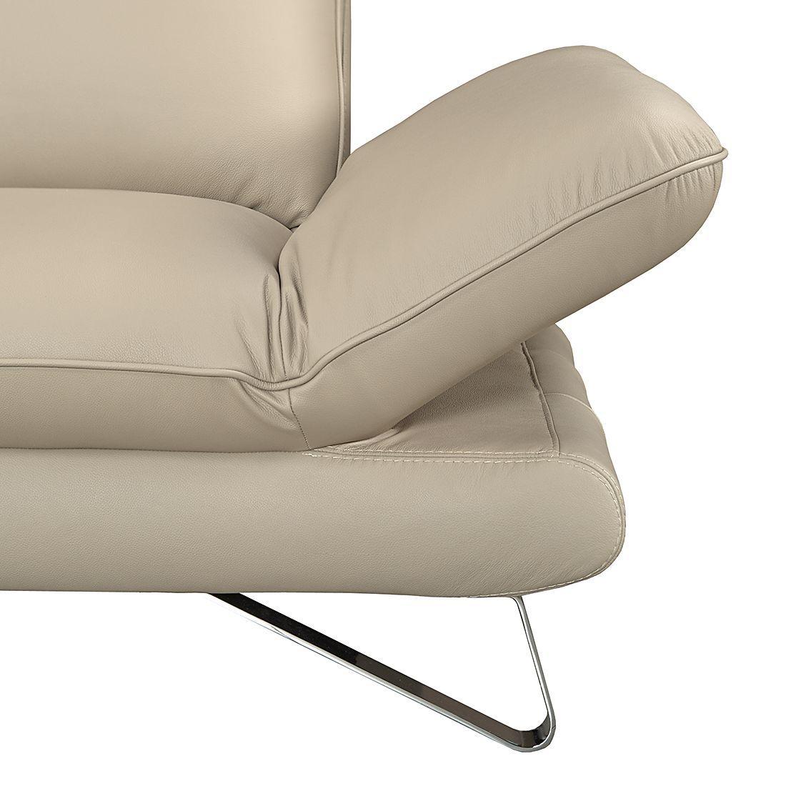 Sofa Enzo 2 5 Sitzer Echtleder Beige Sofa Mit Relaxfunktion Couch Mit Schlaffunktion Sofa Stoff
