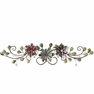 Jcpenney Com 3 Flowers On Vine Wall Decor Vine Wall Floral Wall Art Wall Decor