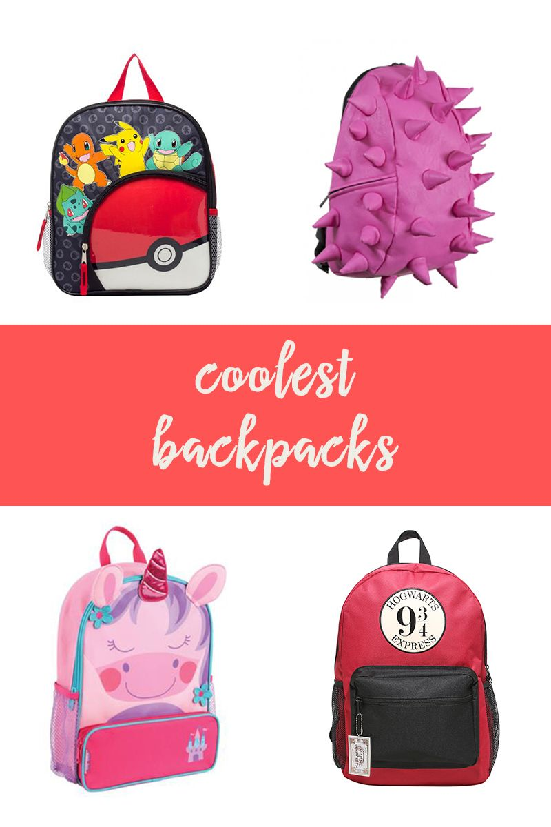 Have your kids head back to school in style with the coolest backpacks.  From fun characters like Tinker Bell and Snoopy to colorful patterns a385e49613163