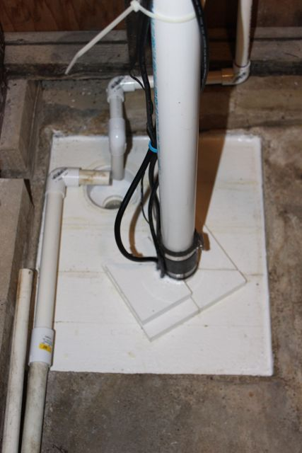 Diy Sump Pump Hole Cover The Cover May Also Help The Humidity And If So That Will Mean Running The Dehumidifier Les Sump Pump Cover Diy Plumbing Sump Pump